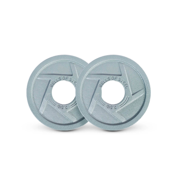 MIghty Grip Plates set of 2.5 lbs