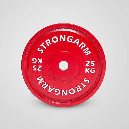 Calibrated Powerlifting Plates by Strongarm