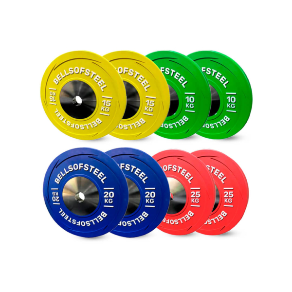 Competition Bumper Plate set of 140 kg