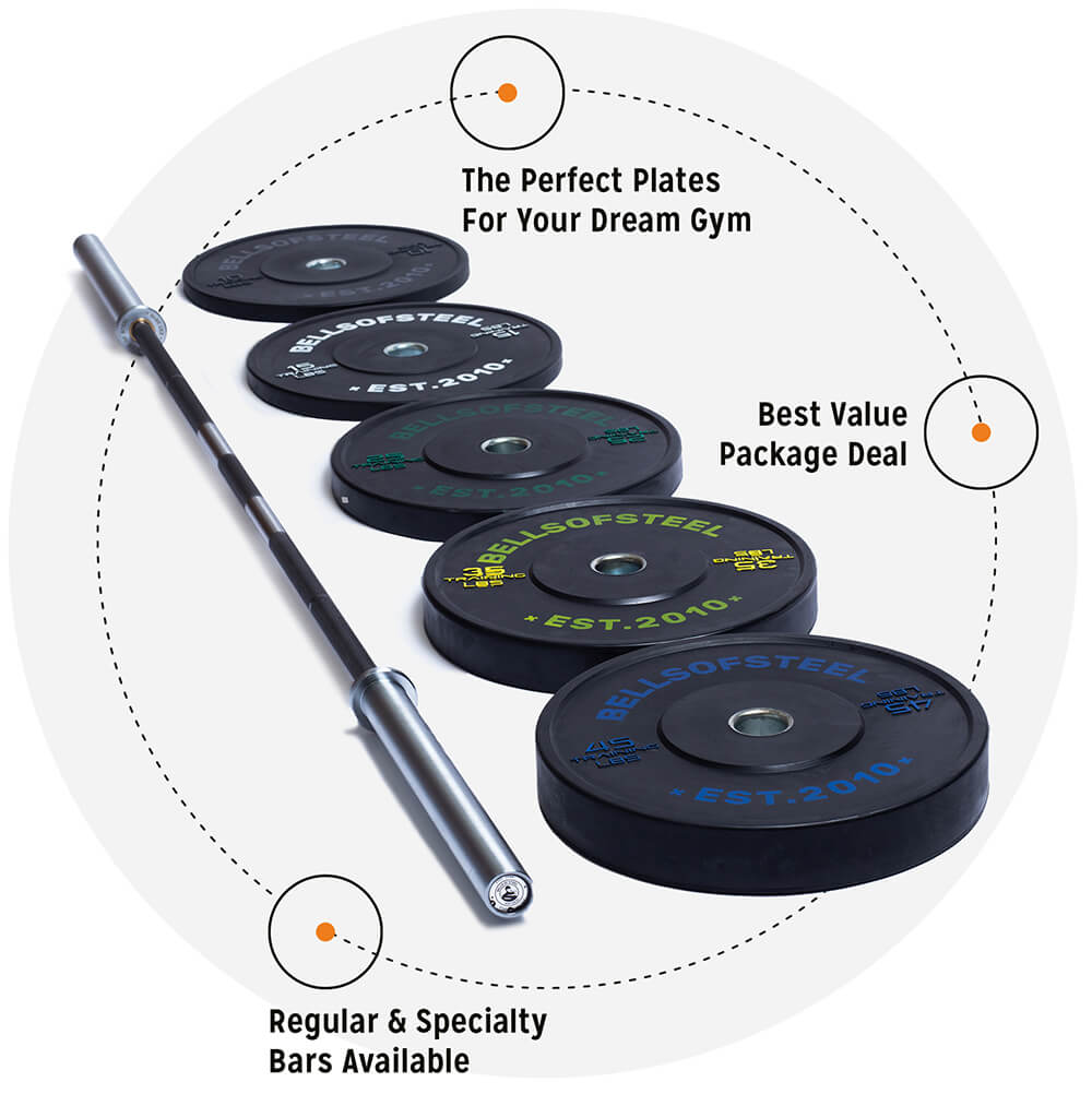 bumper and barbell package