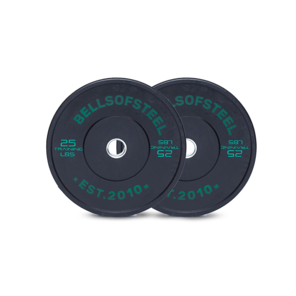 Conflict Bumpers Plates set of 25 lbs