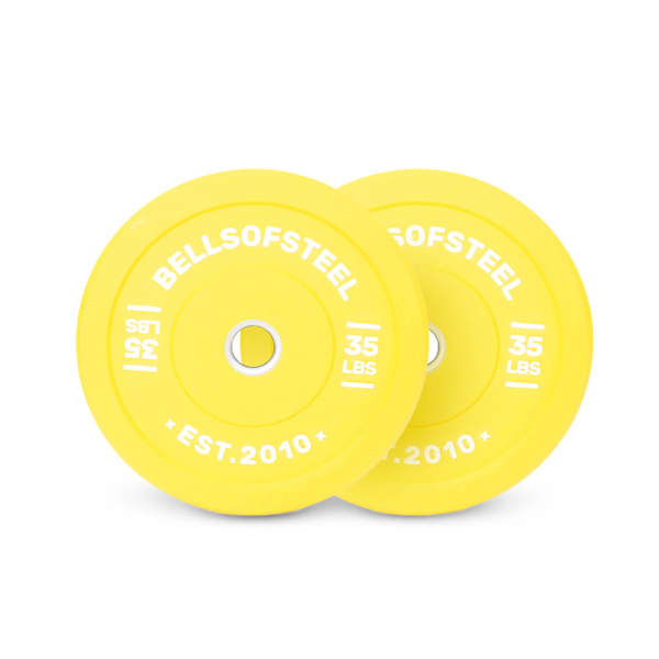 Colored Bumper Plates pair of 35 lbs