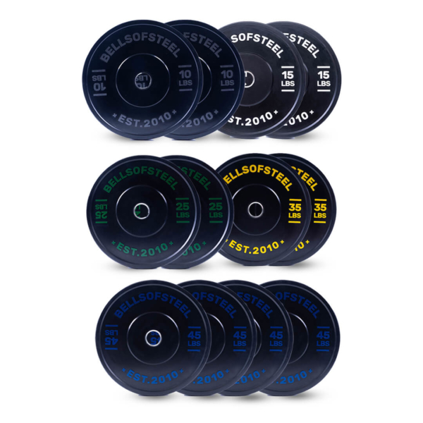 Dead Bounce Conflict Plate set of 350 lbs